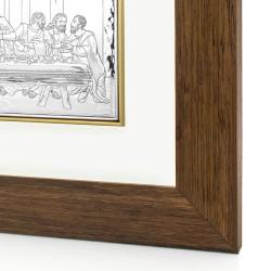 obraz w drewnie ostatnia wieczerza na wyjątkowy prezent