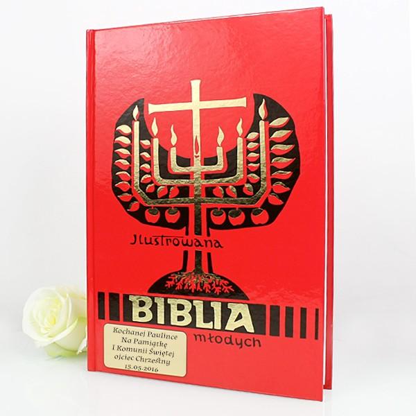 ilustrowana biblia młodych na prezent komunijny