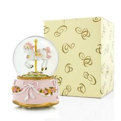 szklana kula z pozytywką na prezent dla dziecka
