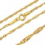 medalik na łańcuszku ze złota pr. 585