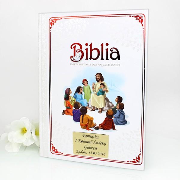 biblia święta historia dla naszych dzieci na prezent