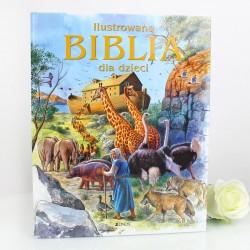 biblia z dedykacją od matki chrzestnej