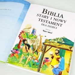 grawerowana biblia na prezent