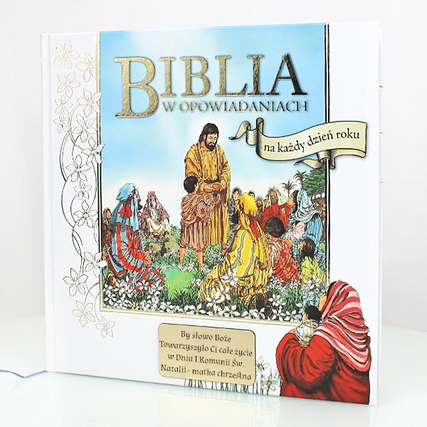 biblia w opowiadaniach z grawerem