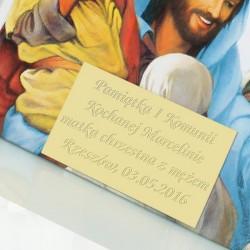 grawerowana dedykacja na biblii