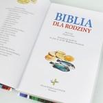 prezent na komunię z grawerem dedykacji - biblia z grawerem
