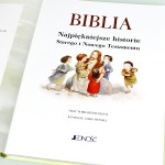 biblia z indywidualną dedykacją