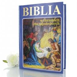 biblia na komunię dla chrześniaka