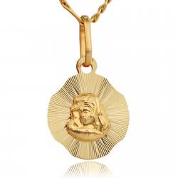 złota biżuteria na komunię dla chłopca