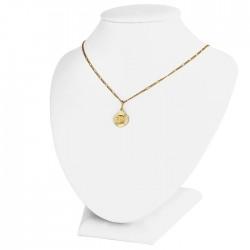 medalik z Matką Boską + łańcuszek ze złota 585