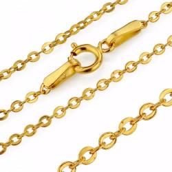 złoty łańcuszek na prezent komunijny
