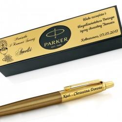 personalizowany długopis parker z personalizacją