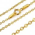 łańcuszek złoty na prezent