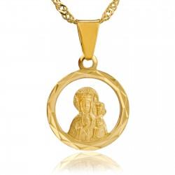 medalik matka boska z grawerem