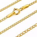 złoty łańcuszek 585 na prezent