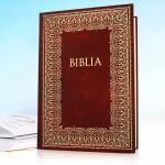 biblia na prezent komunijny z personalizacją