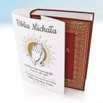 biblia z personalizowaną obwolutą na prezent z okazji komunii