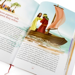 pamiątka na komunie biblia dla dzieci na komunię